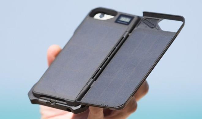 Sunny Case: Solar-Ladehüllen für das iPhone 7