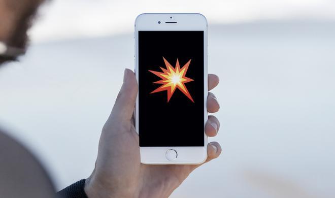 Explodierendes iPhone 7: Was an der Story zum Himmel stinkt