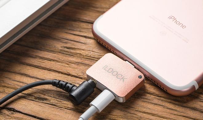 iLDOCK: Mini-Adapter für iPhone 7 bei Kickstarter bringt Klinkenanschluss zurück