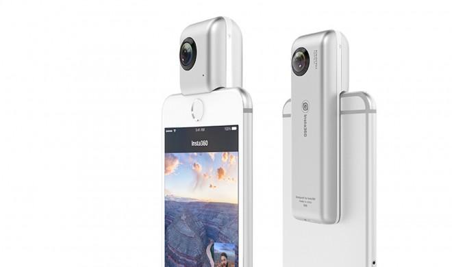 Insta360 nano: Rundumaufnahmen mit dem iPhone