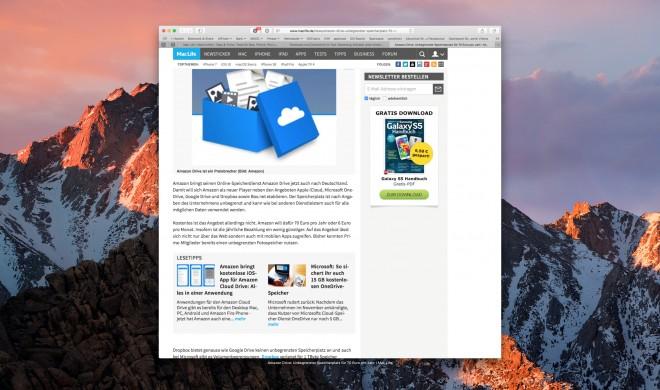 macOS Sierra: So öffnen Sie in Safari 10 beliebig viele geschlossene Tabs