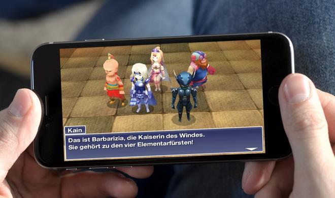Für kurze Zeit: Final Fantasy IV für iPhone und iPad stark reduziert