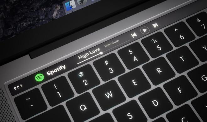 Neue MacBook Pro: OLED-Zeile soll Magic Toolbar heißen