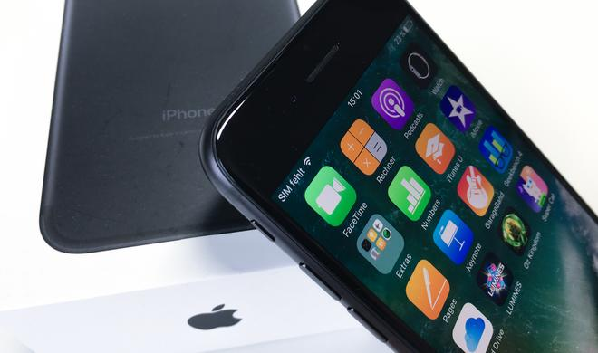 iPhone 7 verkauft sich wie geschnitten Brot