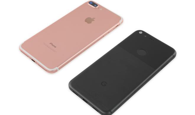 iFixit: Google Pixel XL schlechter zu reparieren als das iPhone 7 Plus
