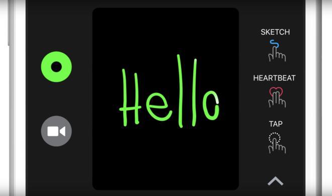 iOS 10: So verschicken Sie Zeichnungen per Digital Touch in iMessage