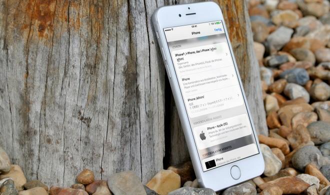 iOS 10: So zeigt Ihnen die Nachschlage-Funktion keine Spotlight-Vorschläge an