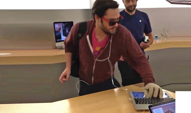 Apple Store: Randalierender Hipster bekommt 6 Monate auf Bewährung