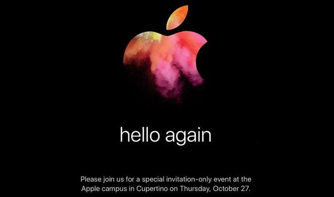 hello again: Neue MacBook Pro und mehr - das erwarten wir vom Mac-Event