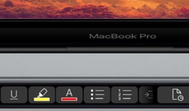 MacBook Pro mit Touch Bar: Jetzt spricht Microsoft