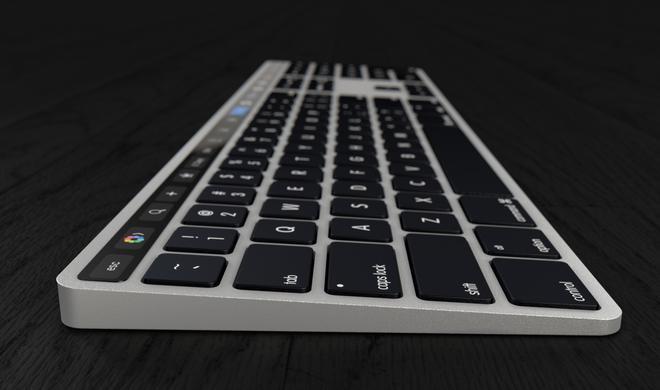 So könnte ein Magic Keyboard mit Touch Bar aussehen