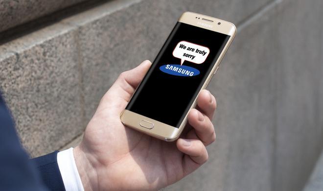 Netzfundstück: So entschuldigt sich Samsung für das Galaxy Note 7