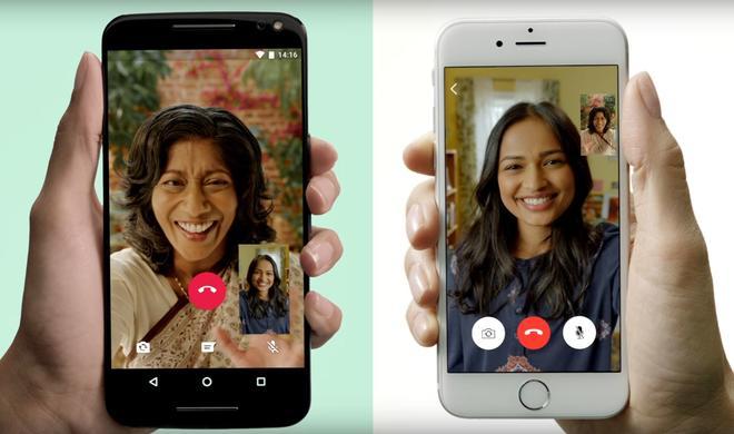 WhatsApp macht FaceTime überflüssig