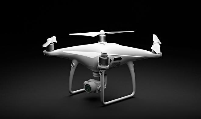 DJI kündigt Phantom 4 Pro mit 360-Grad-Hinderniserkennung an