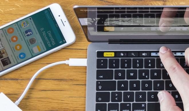 Test: So gut ist das neue MacBook Pro mit Touch Bar wirklich