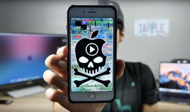 Vorsicht! Dieser neue Videolink lässt das iPhone abstürzen