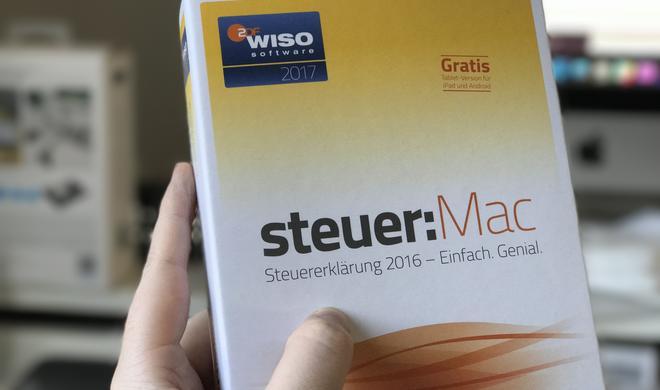 Amazon-Schnäppchen: WISO steuer:Mac 2017 für 21,99 Euro – Blitzdeal, nur heute Vormittag