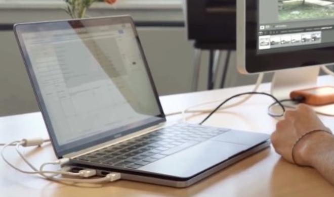 Line Dock: Huckepack-Akku mit SSD für MacBook Pro geplant