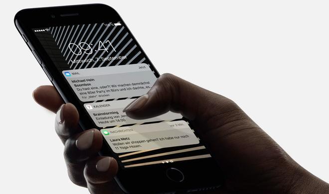 iPhone 7: Ist die Displayhelligkeit zu dunkel? Das sollte helfen
