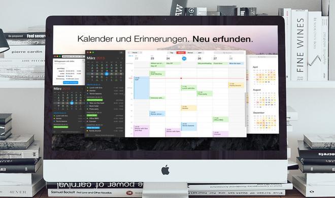 Kalender-App Fantastical 20 Prozent günstiger für Mac