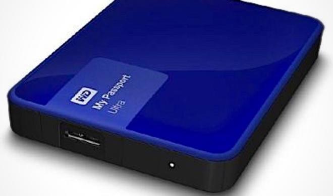 Festplattenspeicher satt: WD My Passport Ultra mit 1 TB stark reduziert
