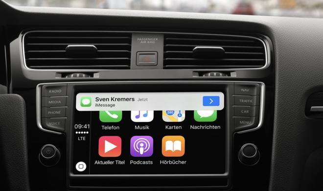 CarPlay: Apple listet bereits über 200 Fahrzeugmodelle