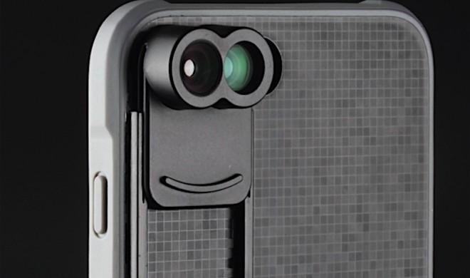 Zweiäugiges Zusatz-Objektiv für das iPhone 7 Plus