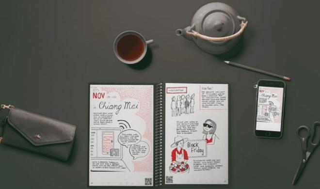 Everlast Notebook: Smartes Notizbuch