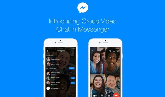 Update: Facebook Messenger erhält Snapchat-Feature und Gruppenvideochats
