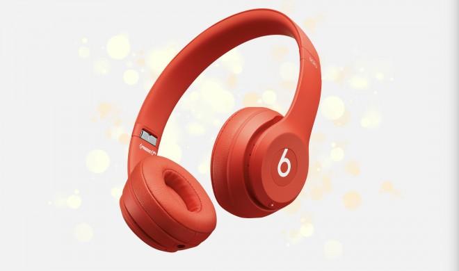 Chinesisches Neujahr: Apple gibt Beats Solo3 Wireless als Gratisbeilage zu Mac- und iPhone-Käufen dazu
