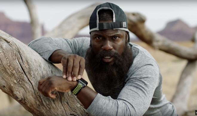 Witzige Videoserie zur Apple Watch Nike+: Comedian Kevin Hart macht einen auf Forrest Gump