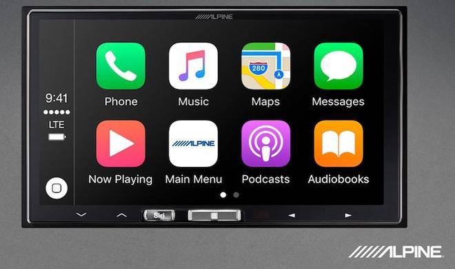 Kabelloses CarPlay: Infotainment-System von Alpine angekündigt
