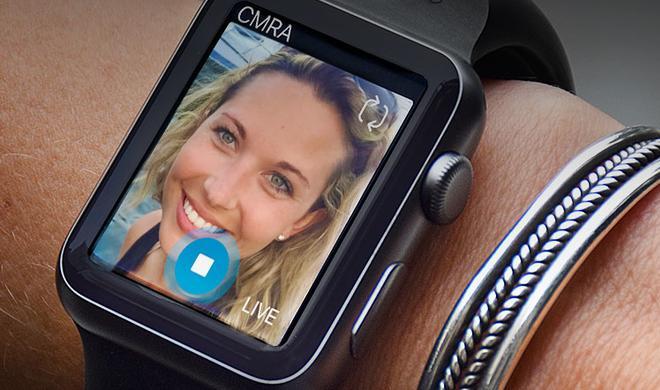 Nachrüstbar: Kamera für die Apple Watch im Uhrarmband