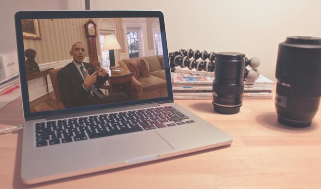 Virtual-Reality-Tour durch das Weiße Haus mit Präsident Obama