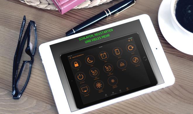 Vom iPhone oder iPad aus steuern: Mac Fernbedienung, Tastatur und Trackpad Pro reduziert