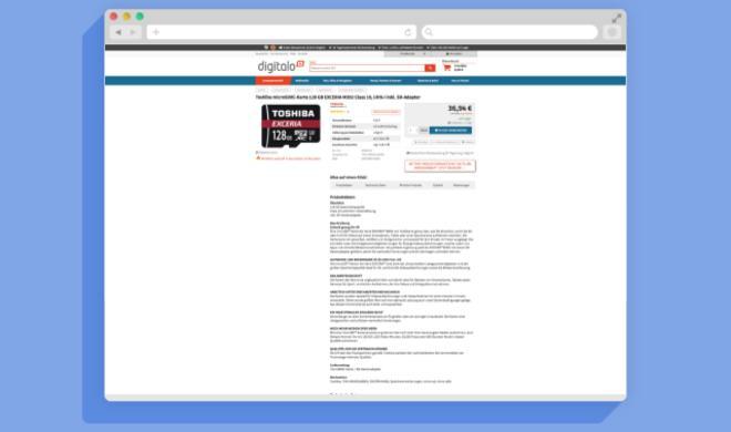 Für 4K-Video geeignet: Toshiba microSDXC-Karte mit Gutschein günstig kaufen