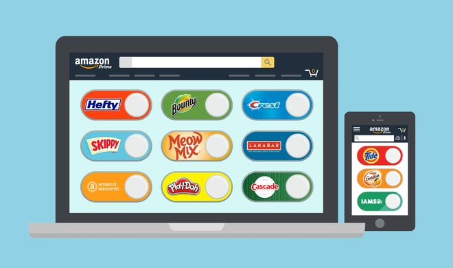 Amazon: Dash Button wird virtuell