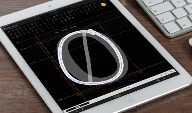 Eigene Schriftart erzeugen: iFontMaker für iPad im App Store reduziert