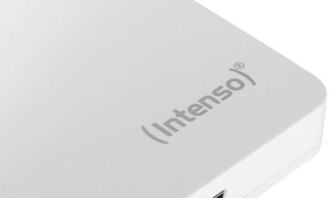Für unterwegs oder DVR: 500 GB Festplatte in Weiß im Ausverkauf
