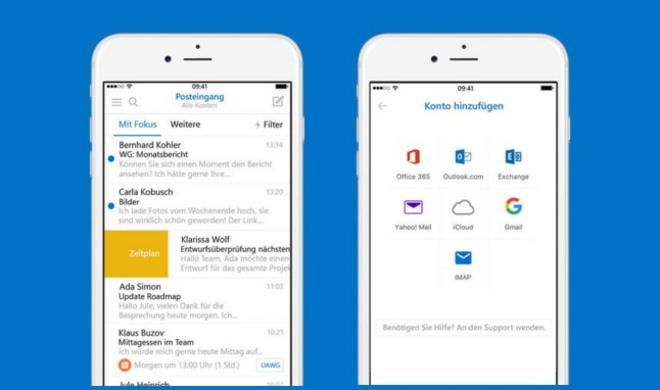 Produktivität gesteigert: Outlook für iOS mit Add-Ins für andere Apps