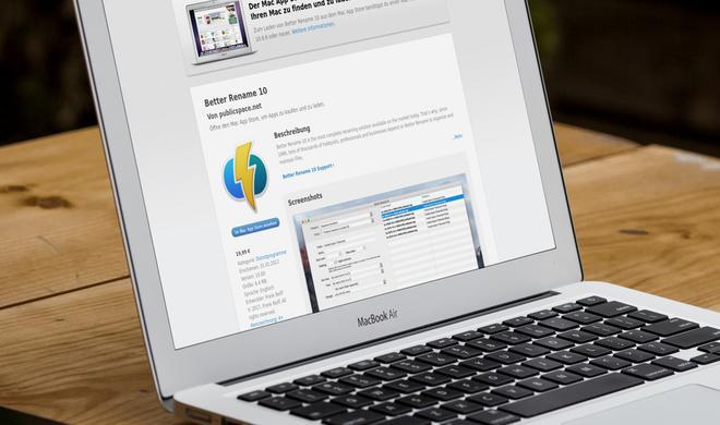 Produktivität steigern: Better Rename 10 für Mac jetzt zur Einführung günstiger