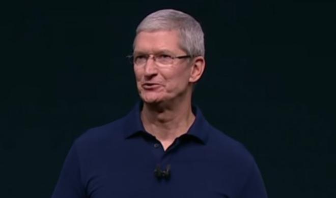 Apple-Chef Tim Cook auf Blitzbesuch in Berlin