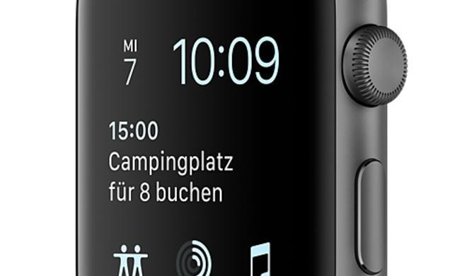 Zweites Armband gratis: Apple Watch Series 2 in Spacegrau