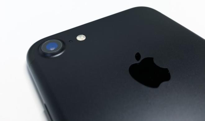 Mattschwarzes iPhone 7: Der Lack ist ab