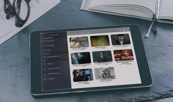 Mit Multitasking und PiP: Air Video HD für iPhone und iPad reduziert