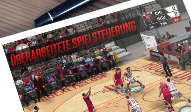 Basketball auf dem Touchscreen: NBA 2K17 für iPhone und iPad reduziert
