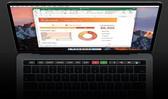 Microsoft Office: Touch Bar-Unterstützung jetzt für alle Nutzer