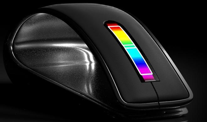 Eigenartig: Magic Mouse mit Touch Bar und Touch ID