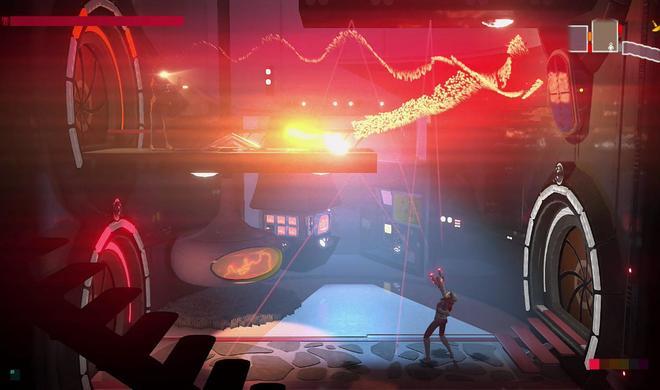 Metroid trifft auf 70er-Sci-Fi-Action: Headlander im Test