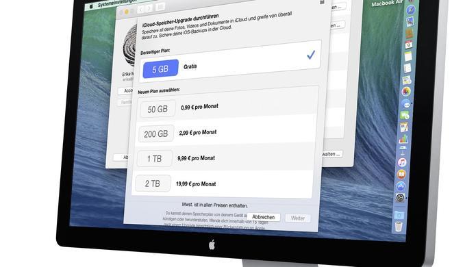 Clouds für Apple-Anwender im Vergleich: iCloud und die anderen